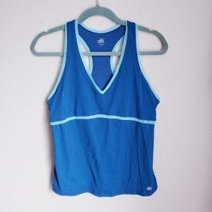 Alo Cool Fit Racer back Tank Size Large